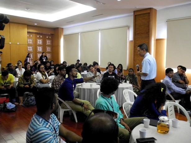 Dozens Of Asian Christian Youth Activists Visited Tzu Chi Center