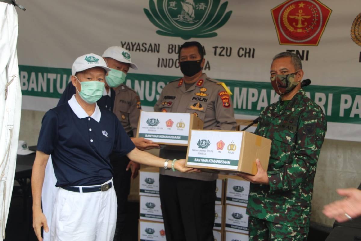 Bantuan Sembako Untuk Warga Kurang Mampu di Kota Bandar Lampung