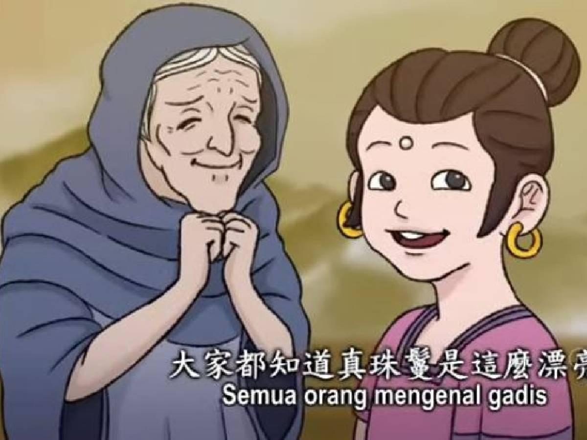 Master Bercerita: Kisah Wanita dengan Mutiara di Keningnya