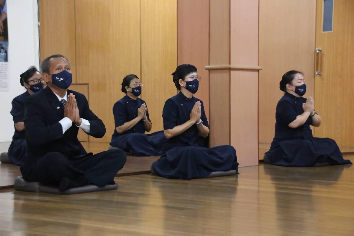 HUT Tzu Chi Ke-55 dan Kebaktian Sutra Bhaisajyaguru