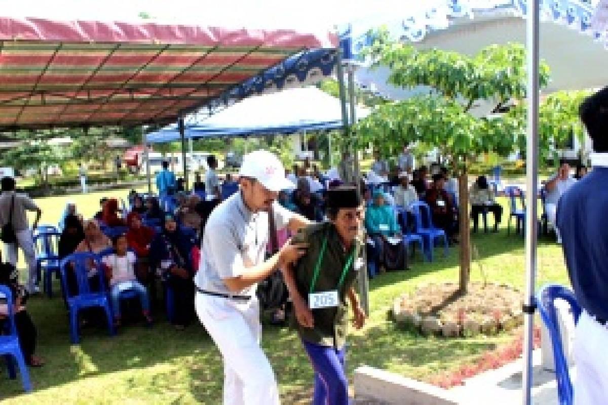 Bakti Sosial Kesehatan di Desa Serongga, Kalimantan Selatan