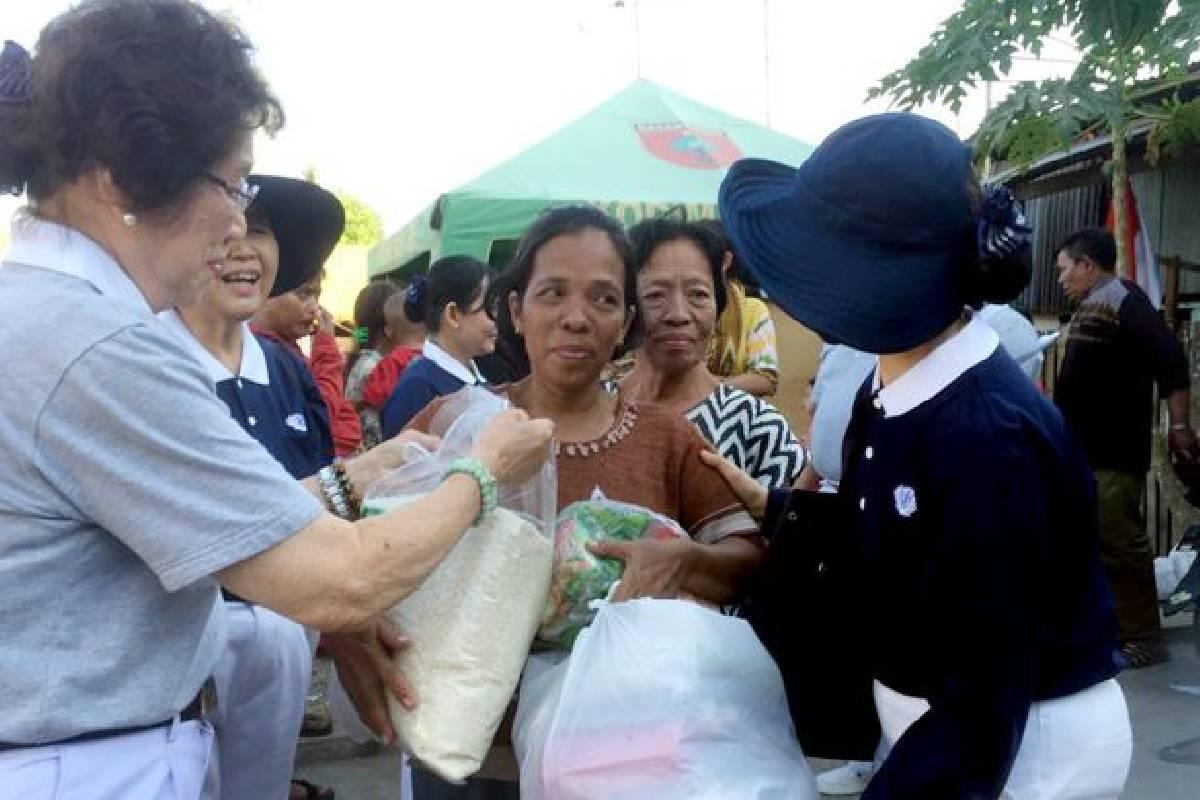 Tzu Chi Membantu Korban Kebakaran di Pannampu
