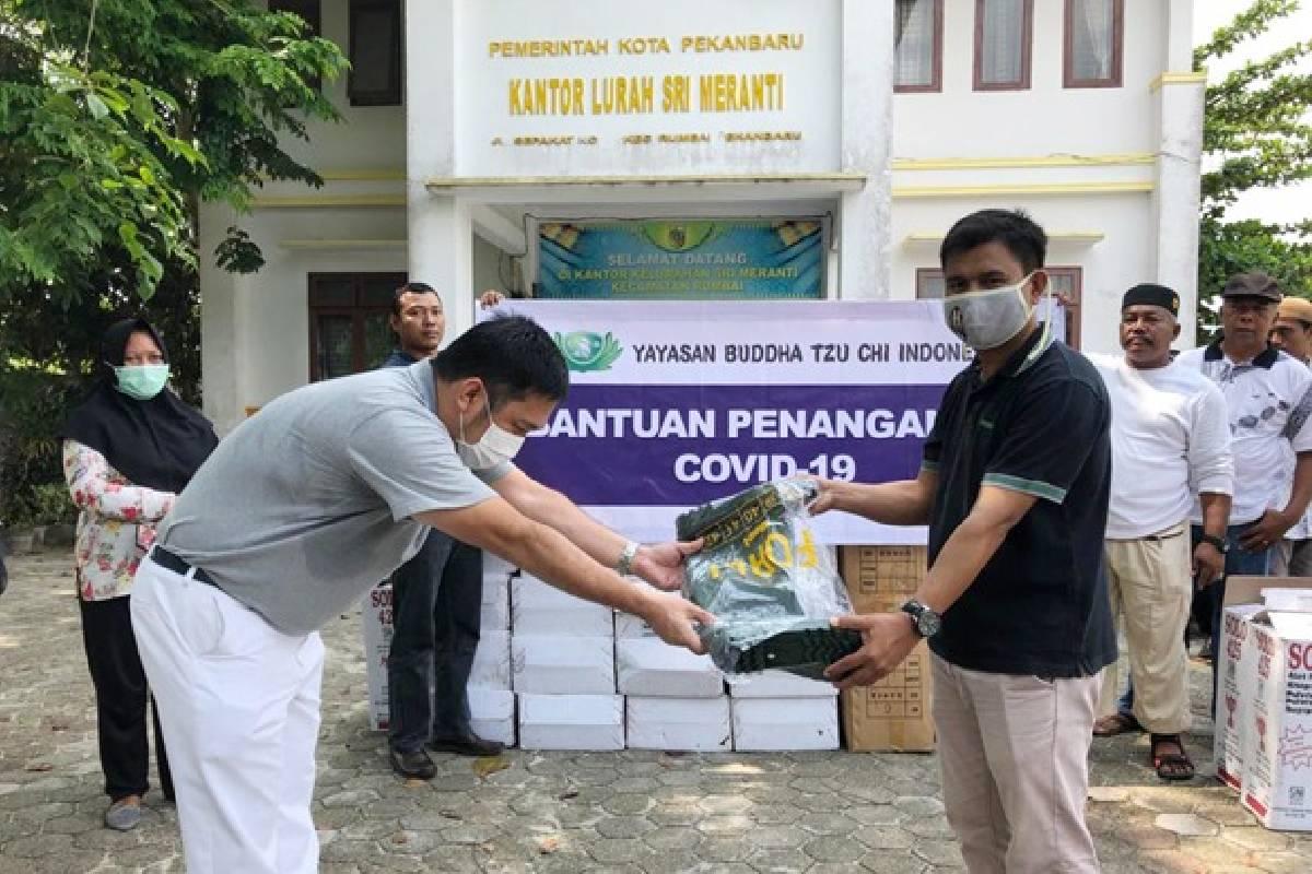 Bantuan Penanggulangan Covid-19 di Provinsi Riau