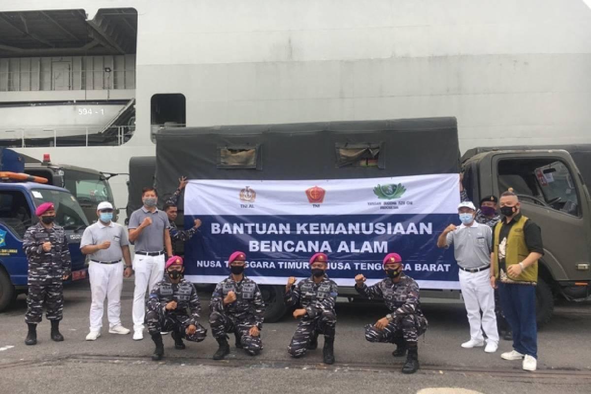 Bantuan Kemanusiaan untuk Bencana NTT dari Tzu Chi Surabaya