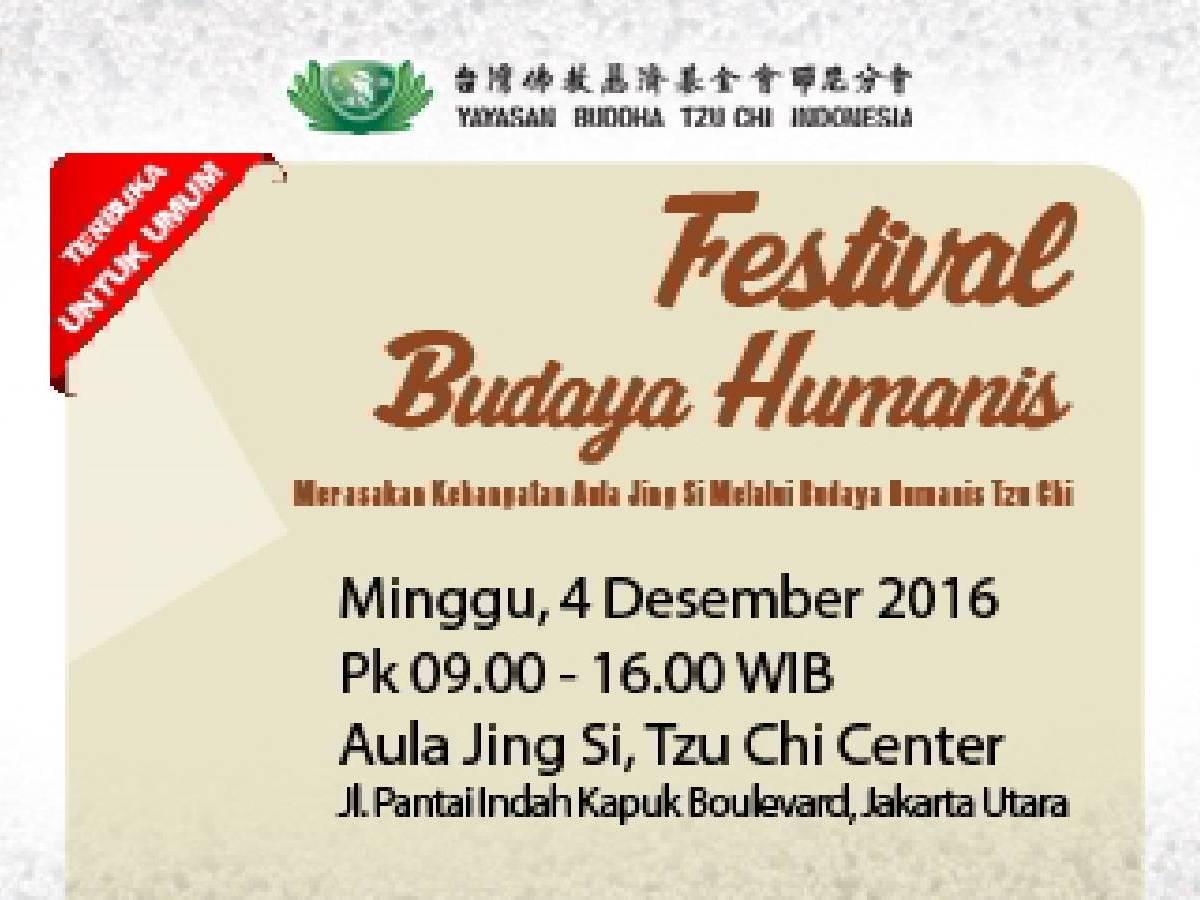 Festival Budaya Humanis 2016