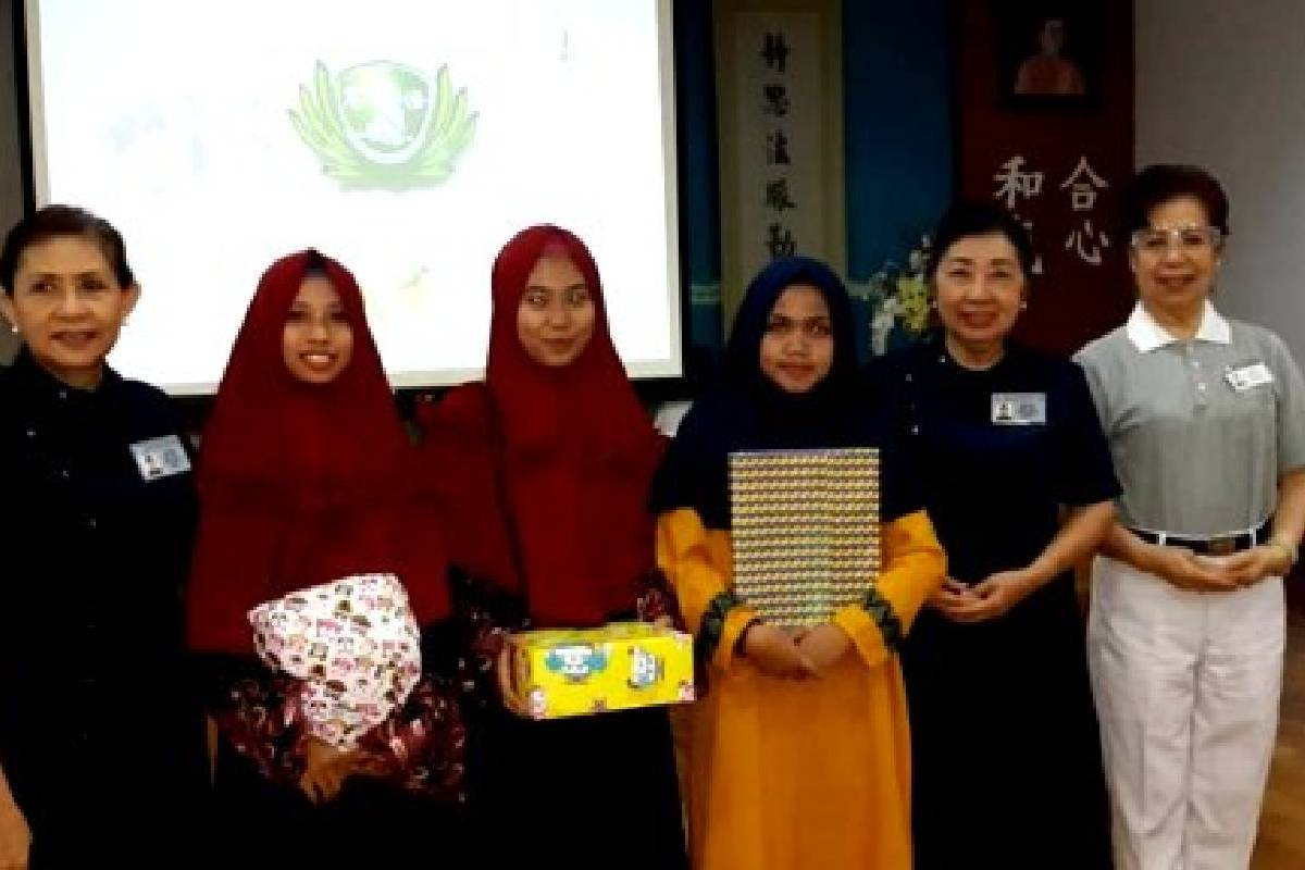 Ratusan Anak Panti Berbuka Puasa Bersama di Kantor Tzu Chi Makassar