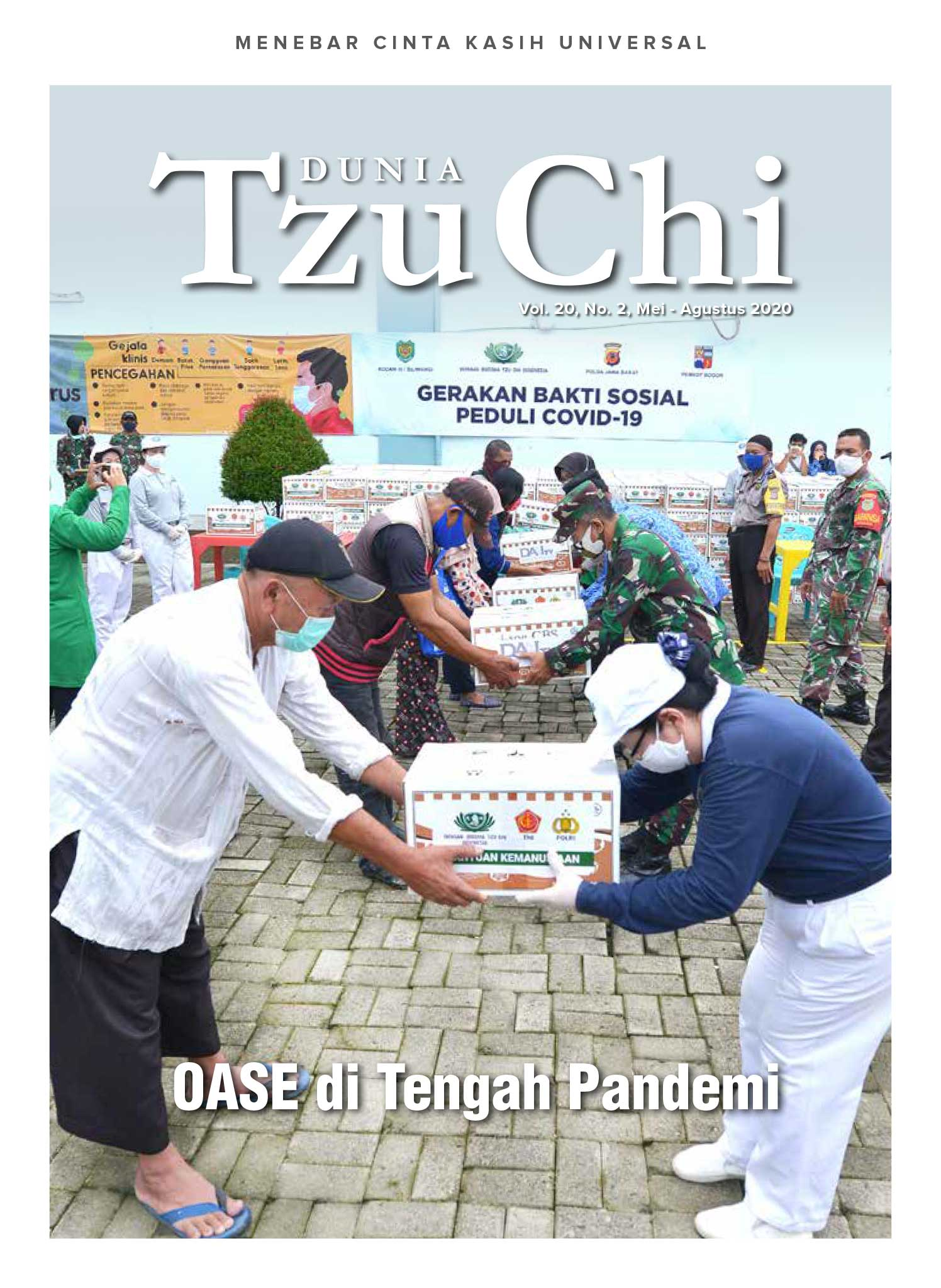 Majalah Dunia Tzu Chi Mei-Agustus 2020