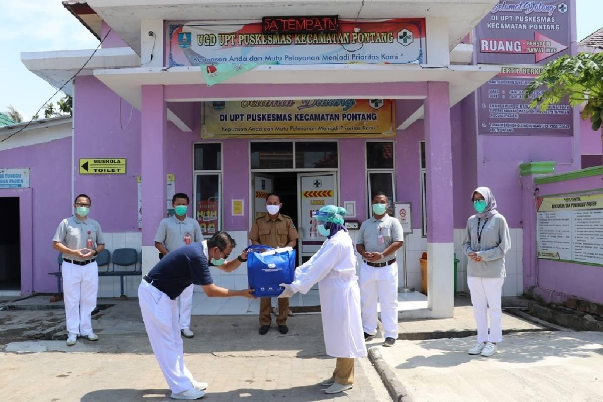 Bantuan Alat Medis untuk 7 Puskesmas di Serang