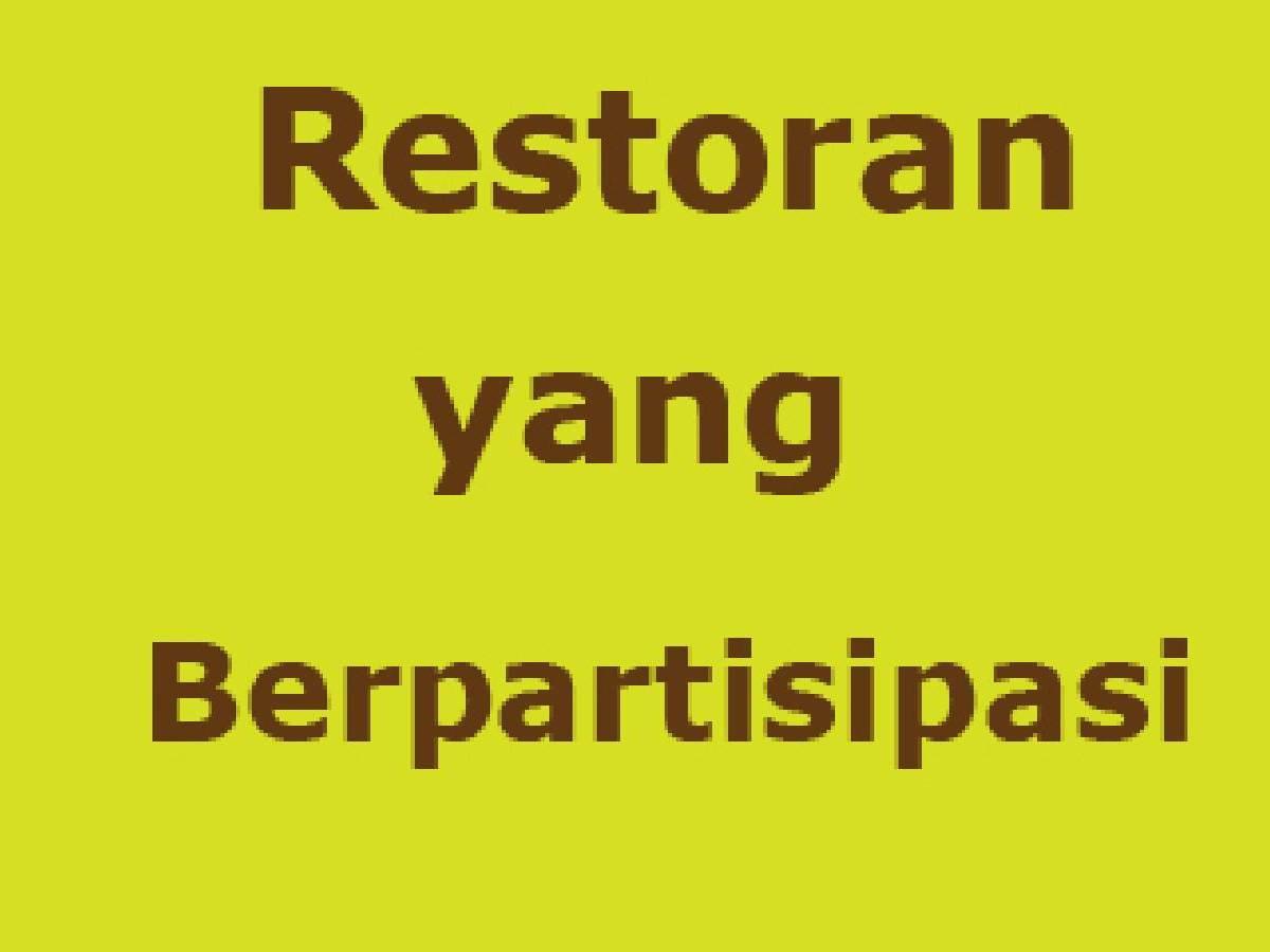 Restoran yang Berpartisipasi