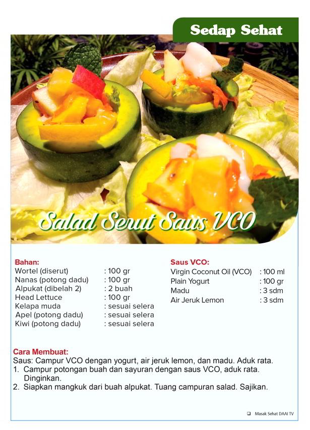 Salad Serut Saus VCO