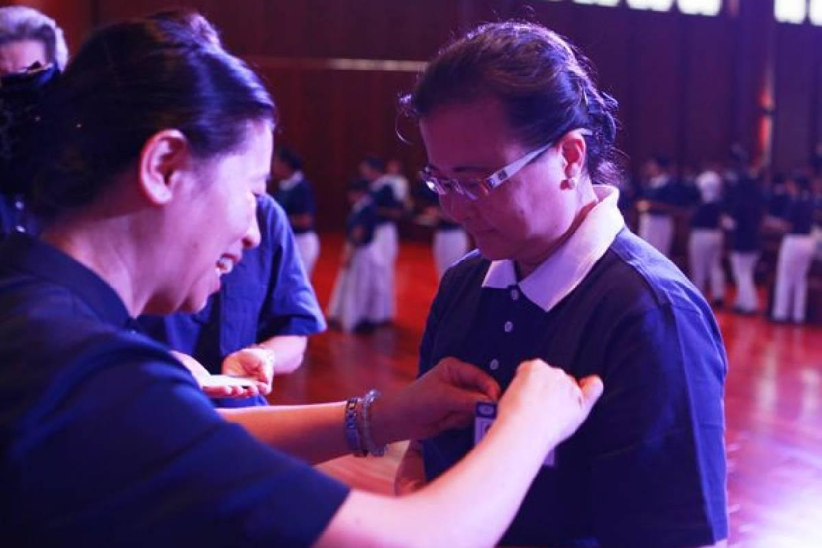 Pelatihan Relawan Biru Putih: Memoar Perjalanan Seorang Insan Tzu Chi