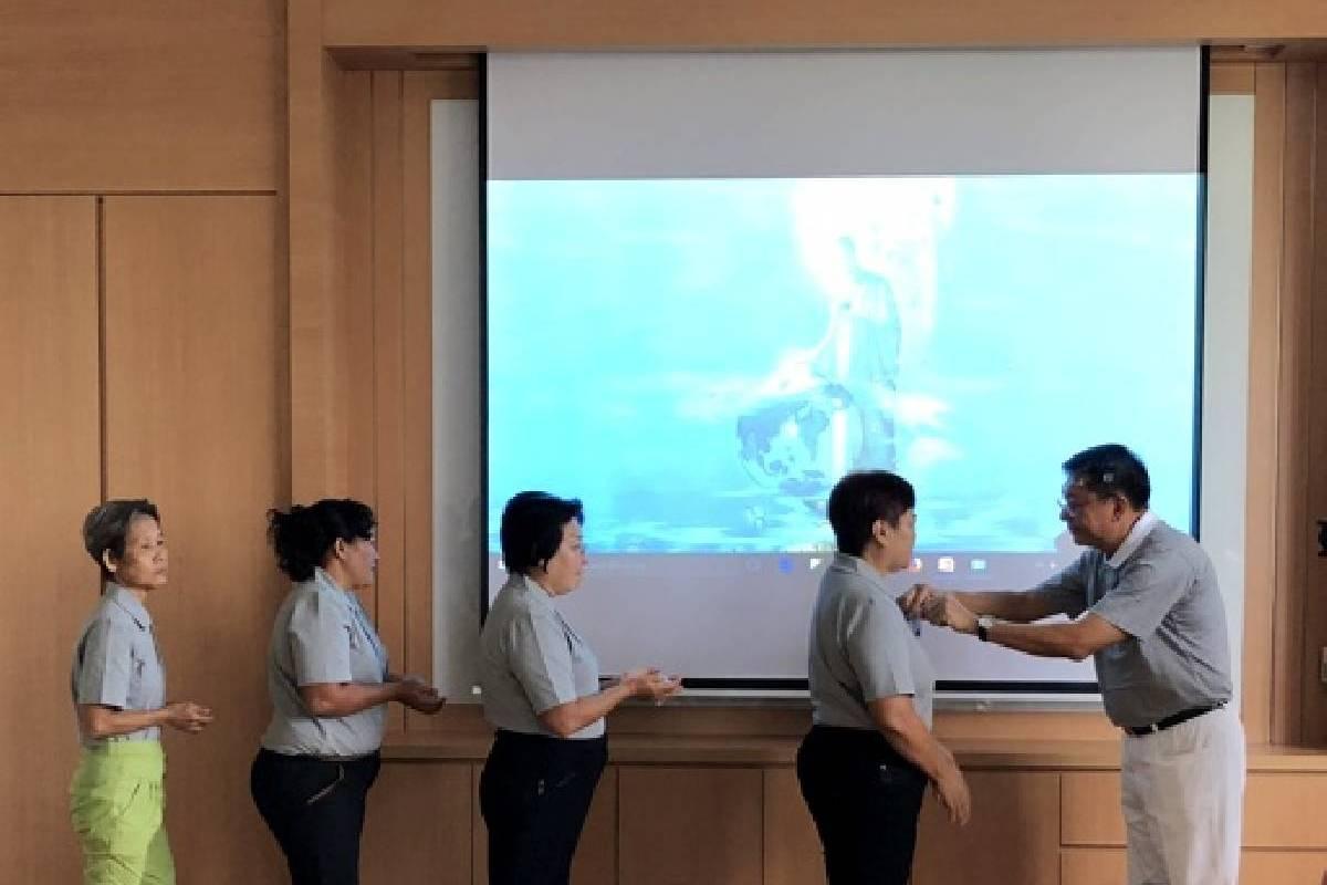 Pelantikan Relawan Pelestarian Lingkungan Yang Pertama di Tzu Chi Batam