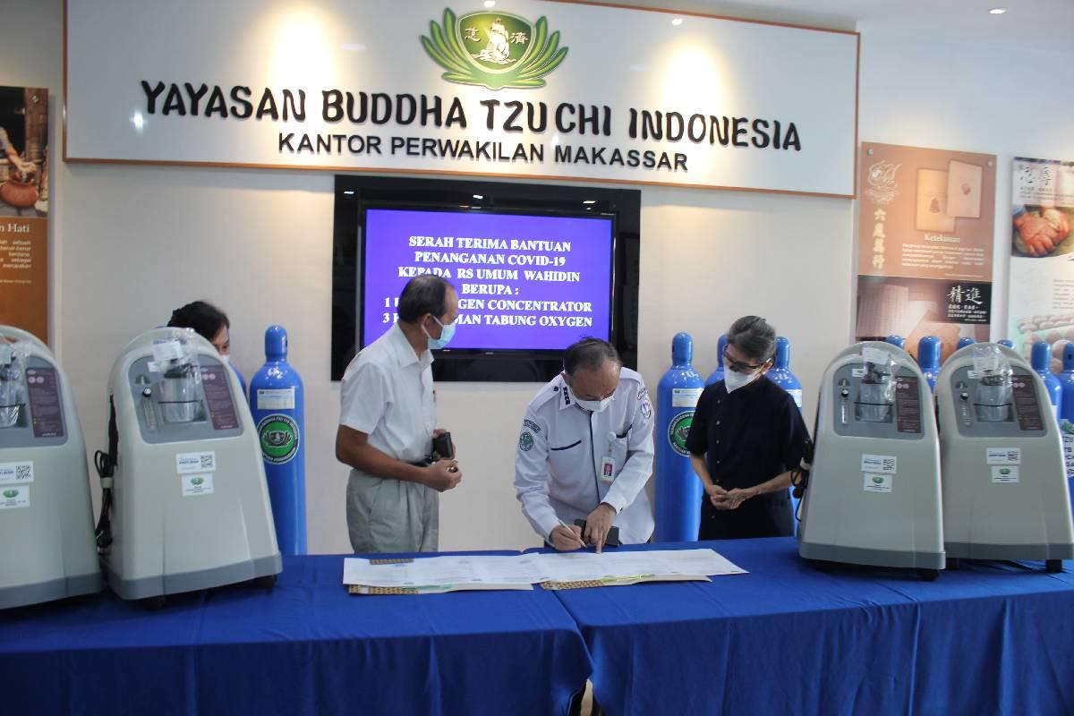 Bantuan Oxygen Concentrator untuk Penanganan Covid-19 di Kota Makassar
