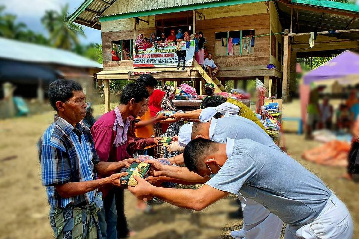 Relawan Tzu Chi Lhoksemawe Salurkan Bantuan Banjir