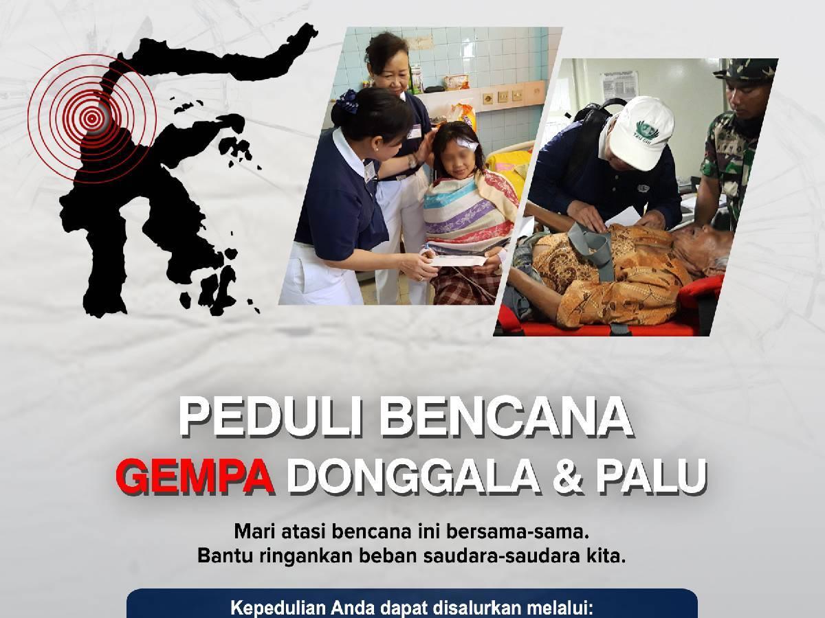 Bantuan Bagi Korban Gempa di Palu