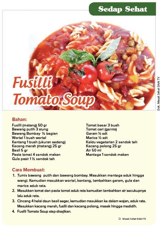 Fusilli Tomato Soup