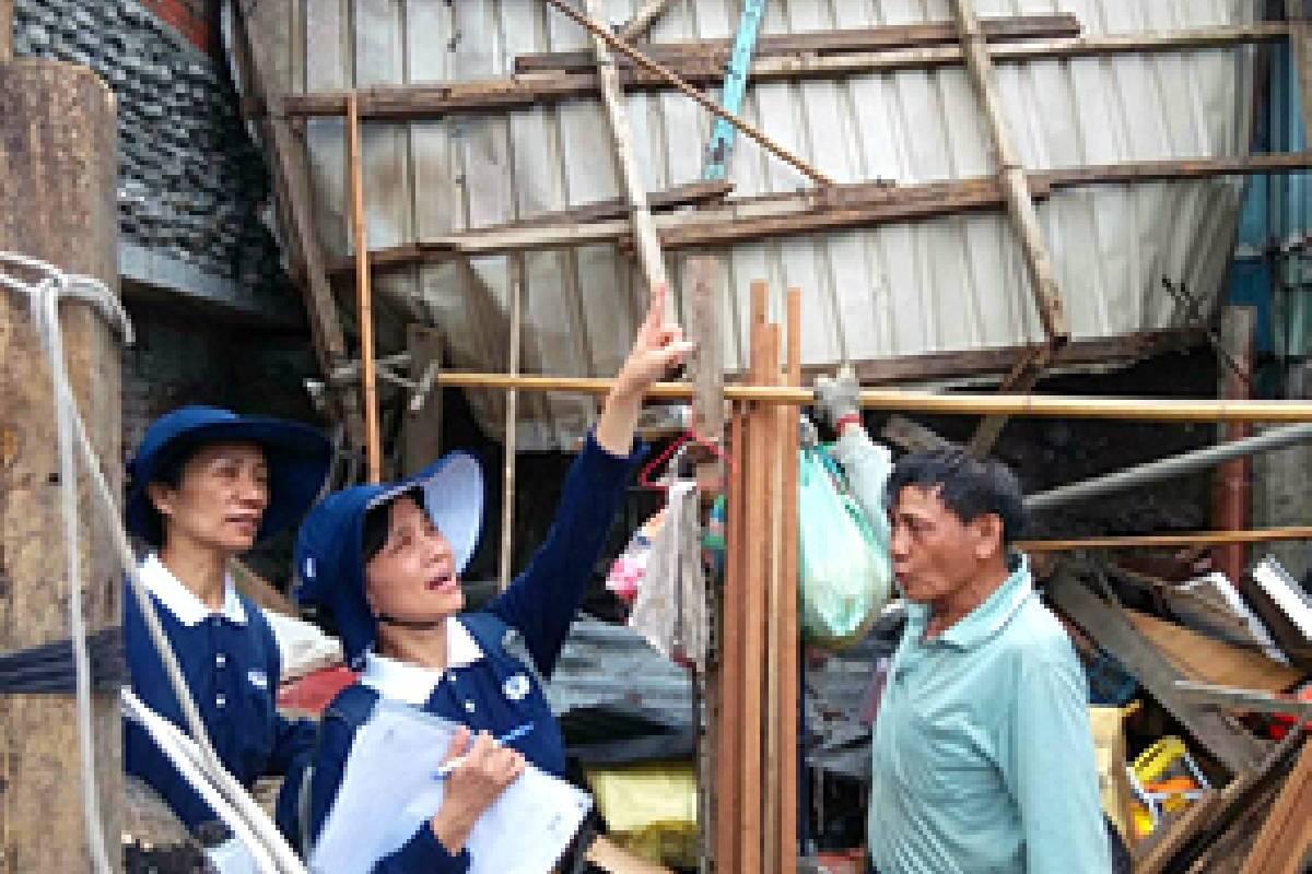 Bantuan Bencana di Taiwan Tenggara Setelah Topan Nepartak