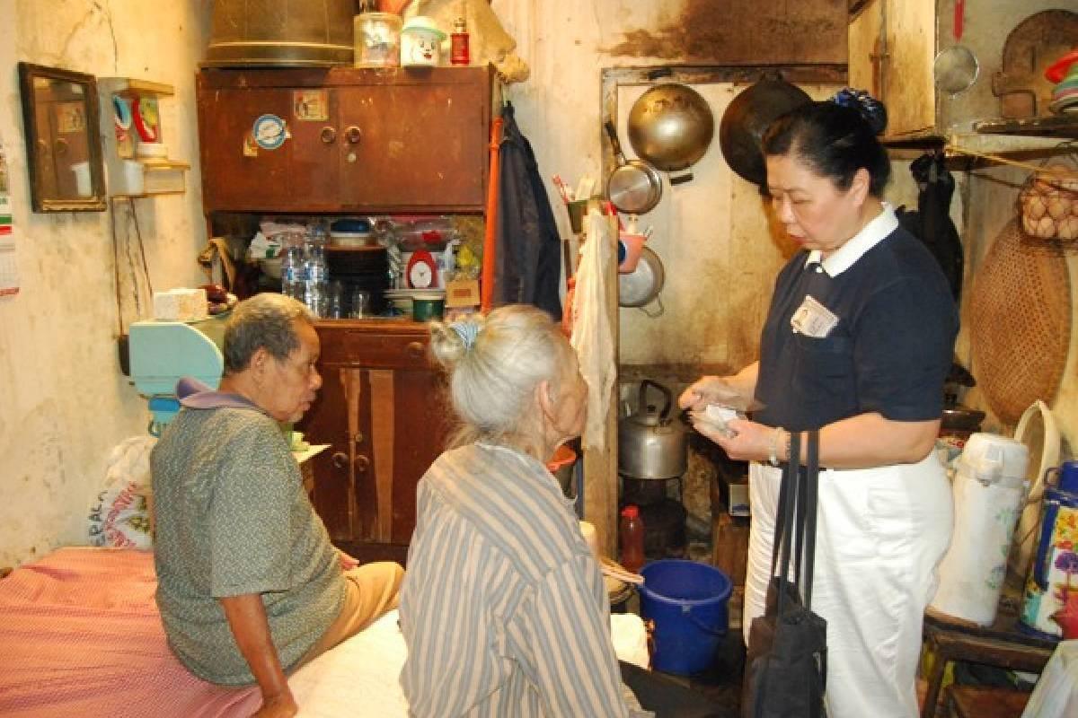 Kunjungan Kasih Tzu Chi Bandung di Bojong Kaler