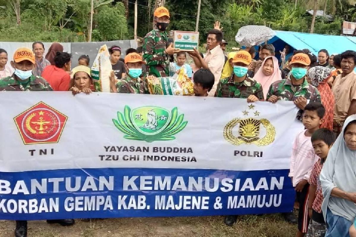 Penyaluran Bantuan untuk Korban Gempa Terus Berjalan