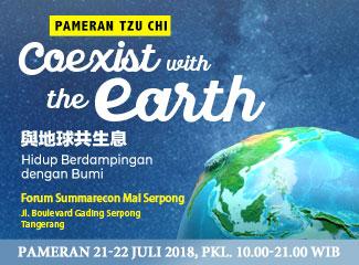 Pameran Tzu Chi: Hidup Berdampingan dengan Bumi