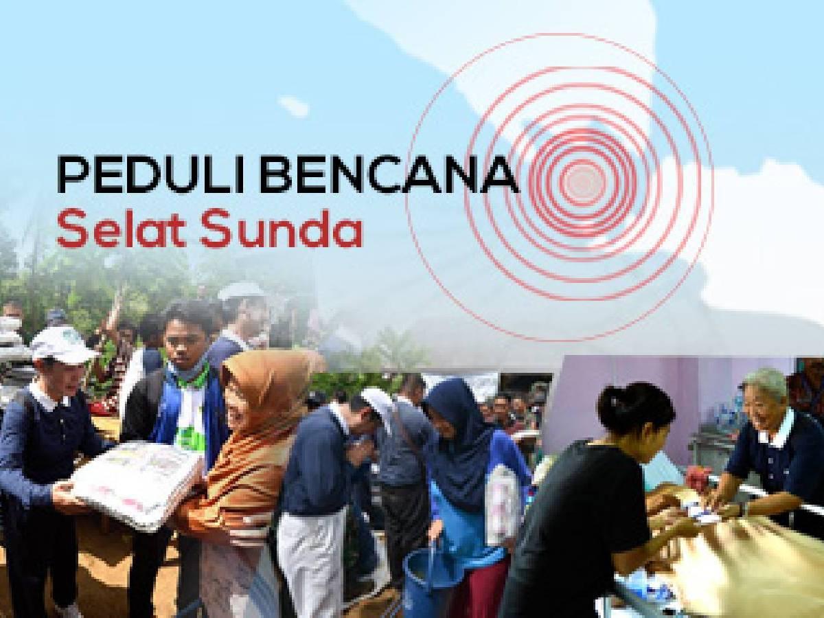 Bantuan Bagi Korban Tsunami Selat Sunda