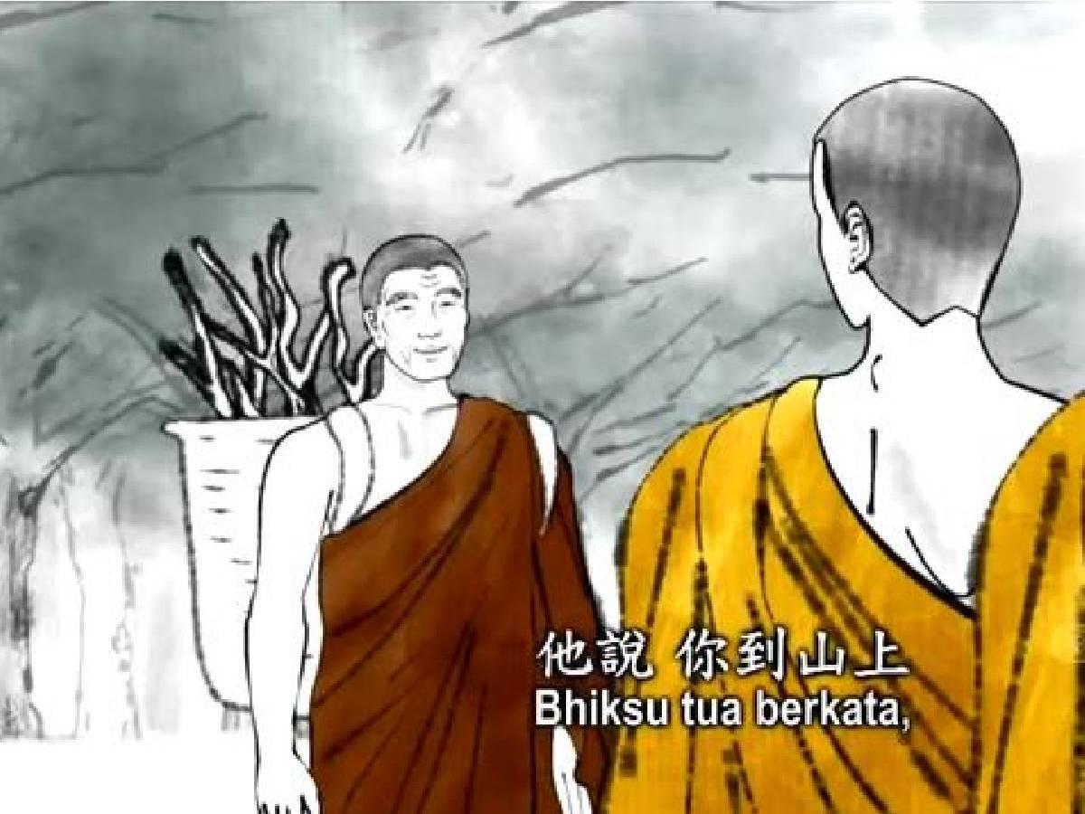 Master Bercerita: Kisah Bhiksu Yang Arya Jeyata