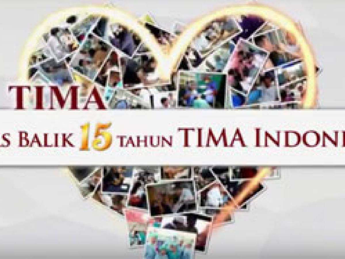 Kilas Balik 15 Tahun Tima Indonesia