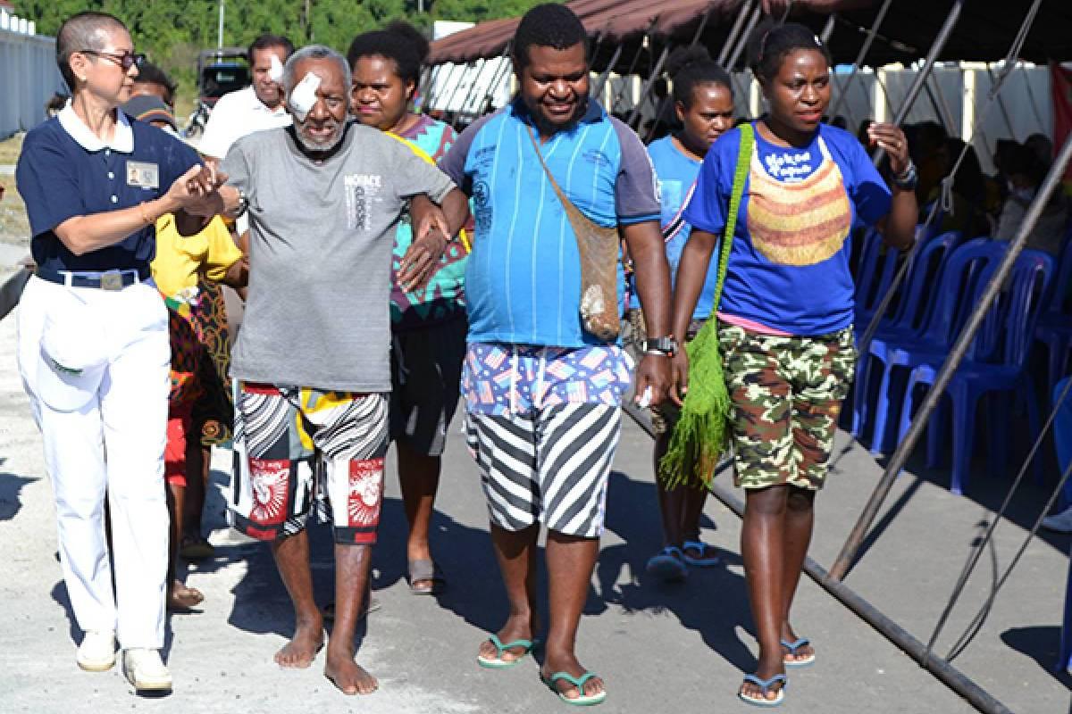 Baksos Kesehatan Tzu Chi ke-127 di Manokwari, Papua