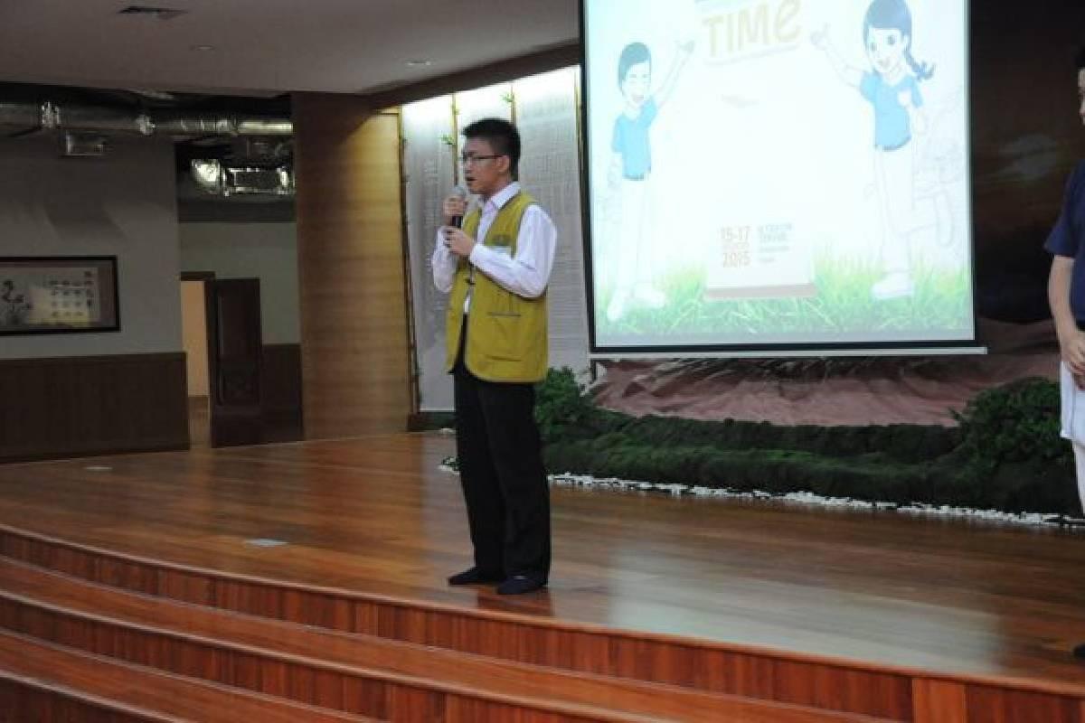 Tzu Ching Camp 2015: Sekaranglah Saatnya