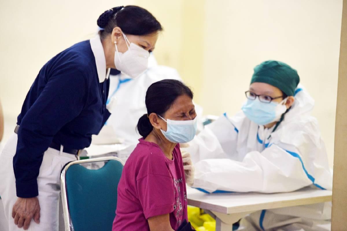 Serbuan Sentra Vaksinasi dari Tzu Chi Indonesia Ada di Tambora