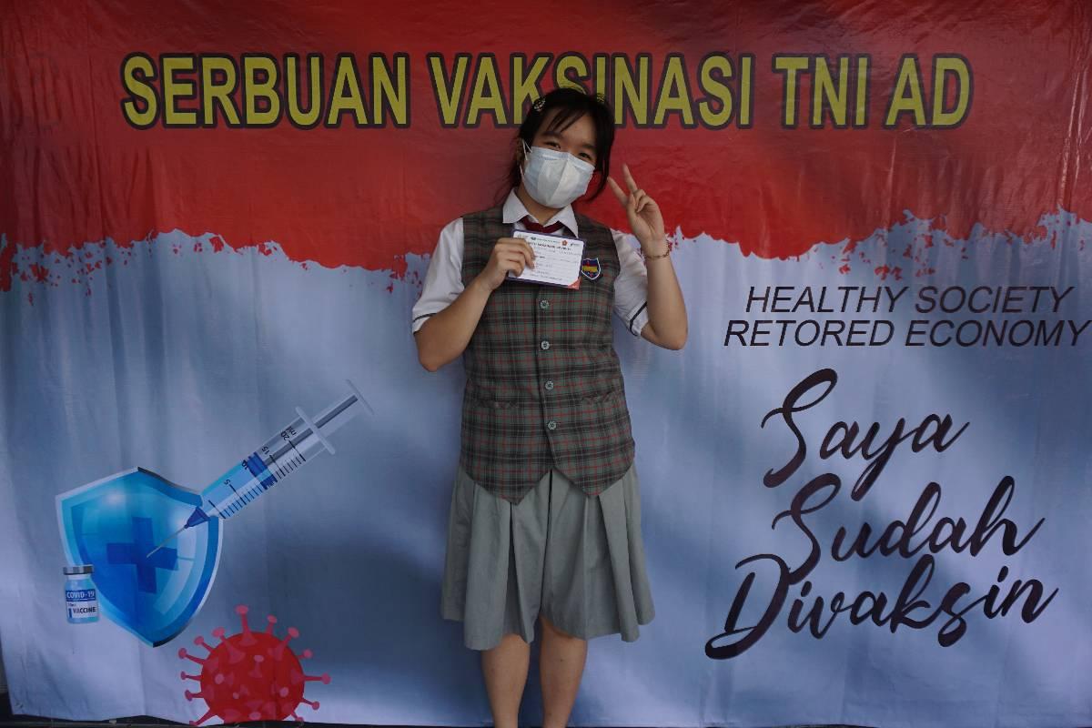 Semangat Para Remaja Mengikuti Vaksinasi Covid-19, Mereka Sudah Rindu Kembali ke Sekolah