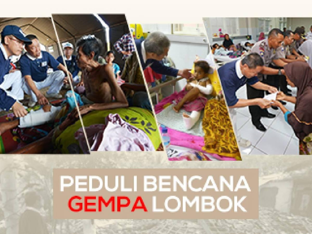 Peduli Gempa Lombok