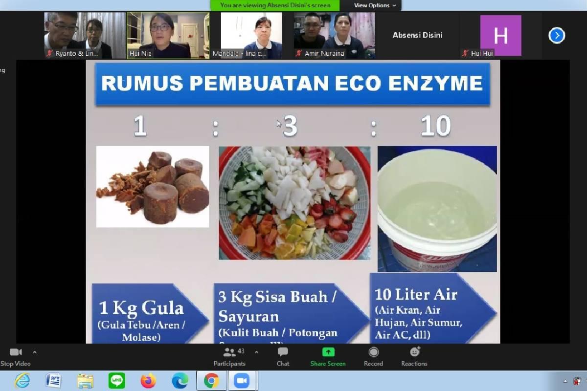 Melestarikan Lingkungan dengan Eco Enzyme