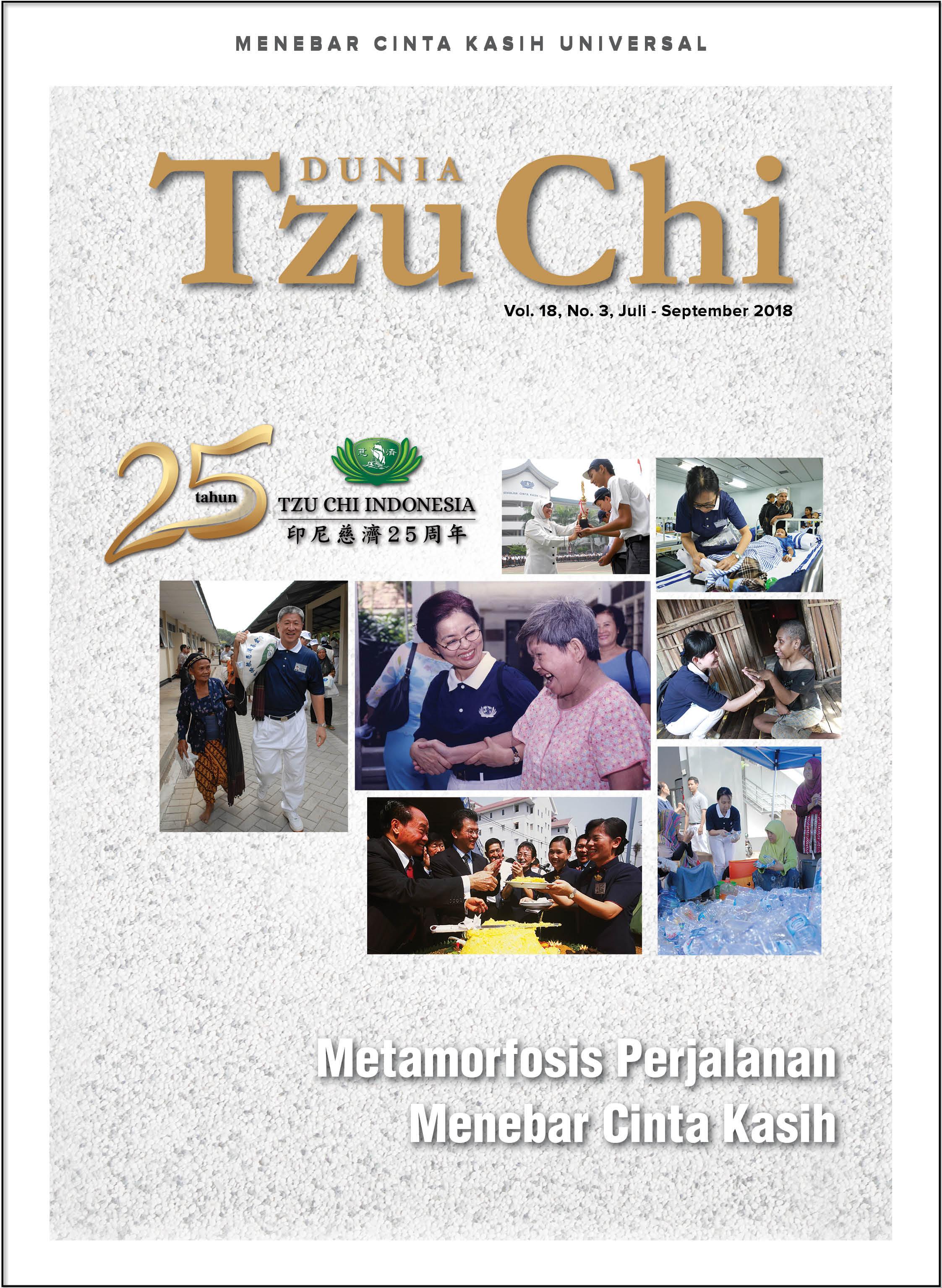 Majalah Dunia Tzu Chi Juli - September 2018