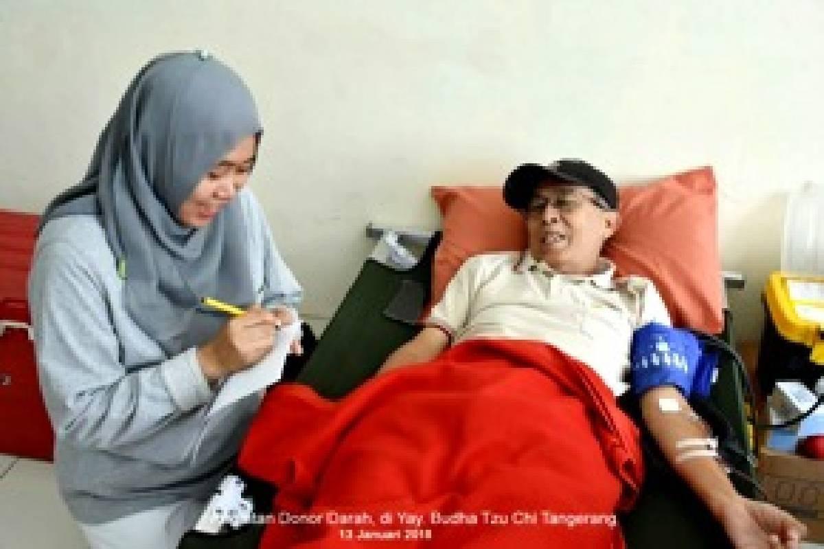 Bersumbangsih di Kegiatan Donor Darah
