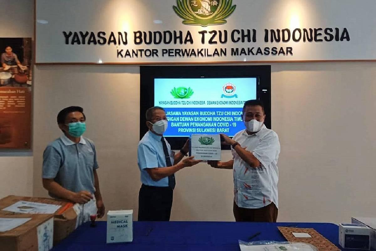 Bantuan Penanganan Covid-19 di Sulawesi Barat
