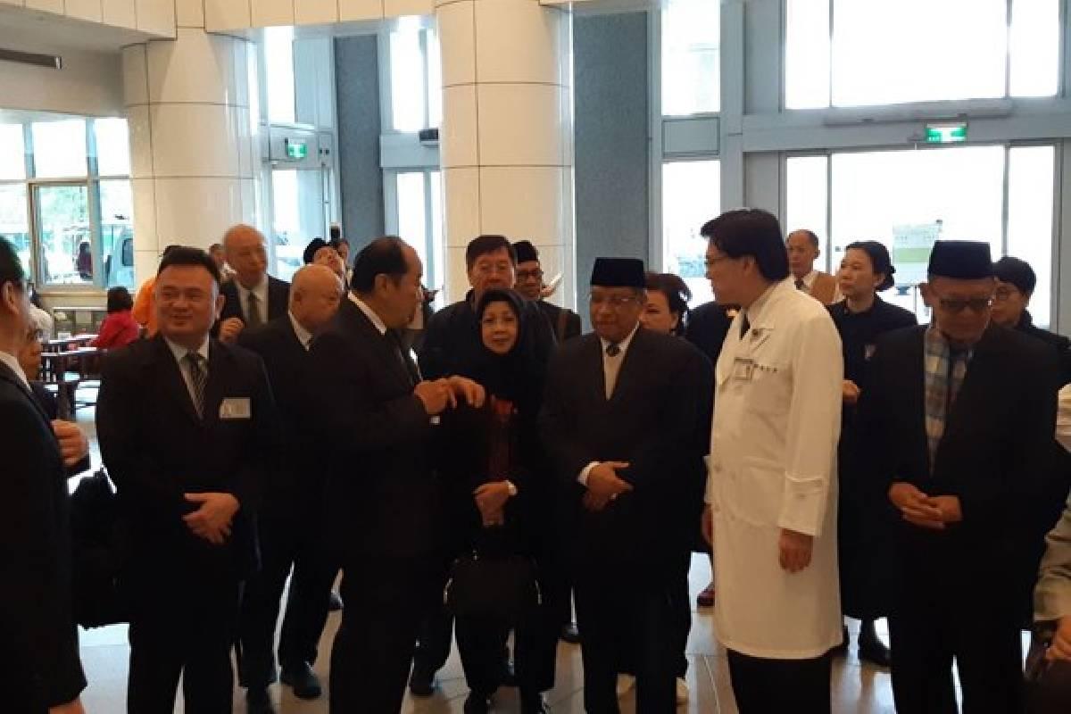 Kunjungi Tzu Chi Hospital, KH Said Aqil Sampaikan Pesan Kemanusiaan