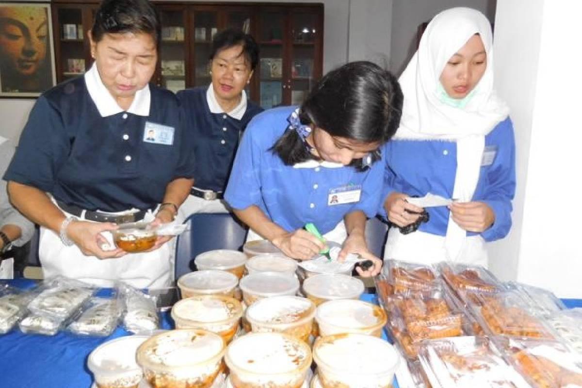 Bazar Vegetarian Menyambut Bulan Tujuh Penuh Berkah
