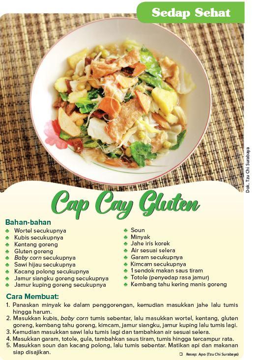 Cap Cay Gluten