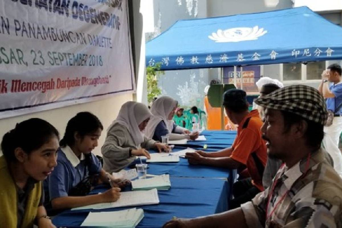 Baksos Kesehatan Degeneratif di Rusunawa Kelurahan Panambungan