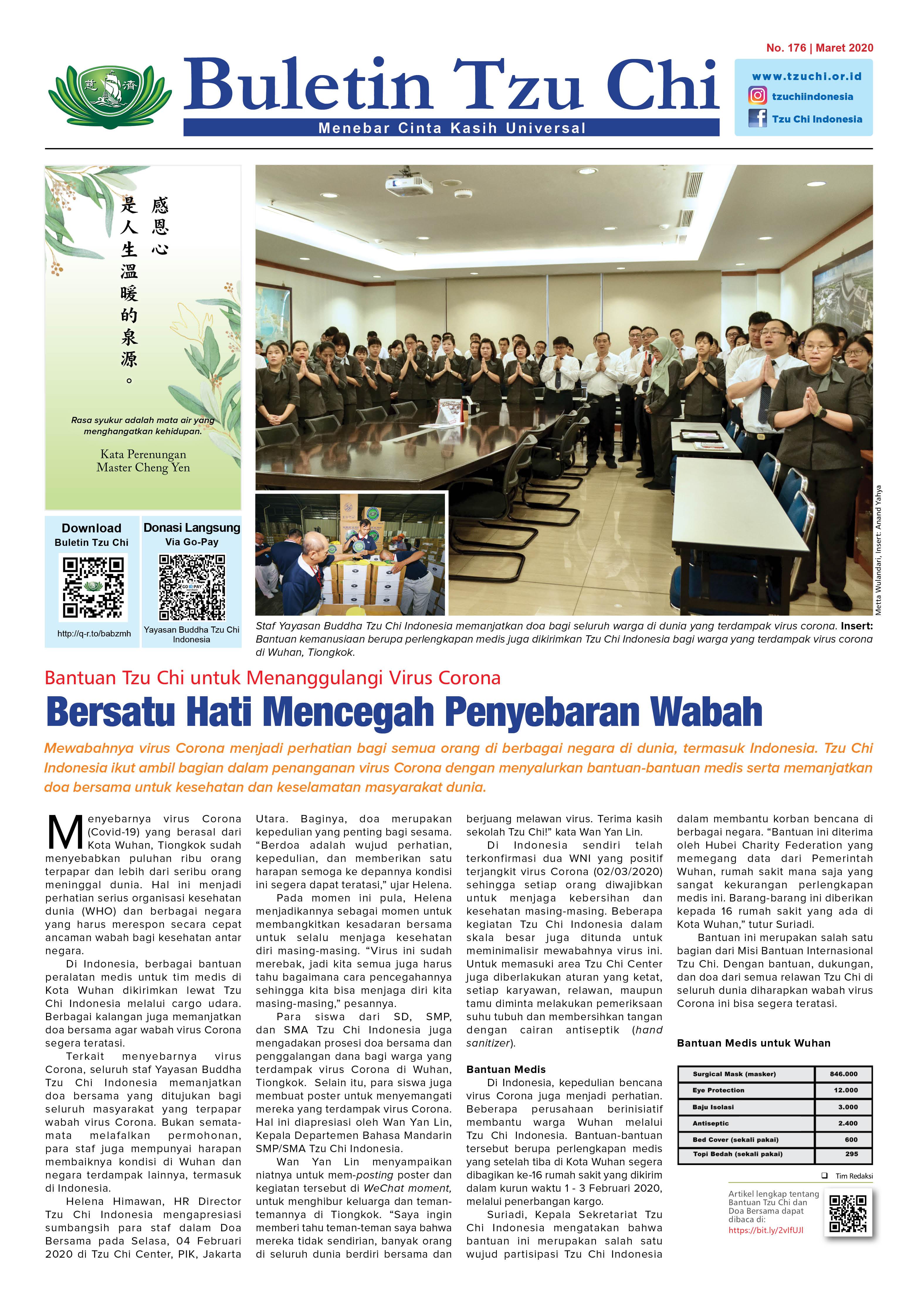 Buletin Edisi 176 Maret 2020