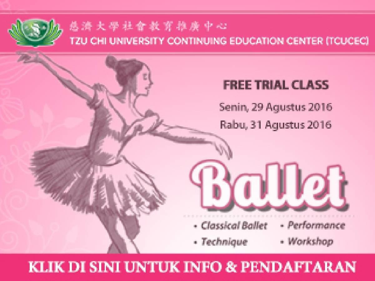 Free Trial Class Ballet
