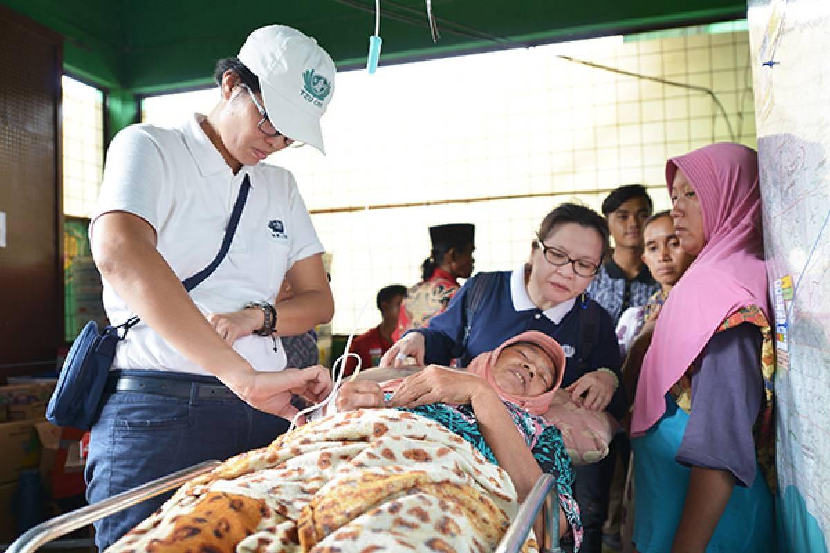 Banjir 2020: Layanan Kesehatan dan Bantuan Logistik untuk Korban Banjir di Lebak