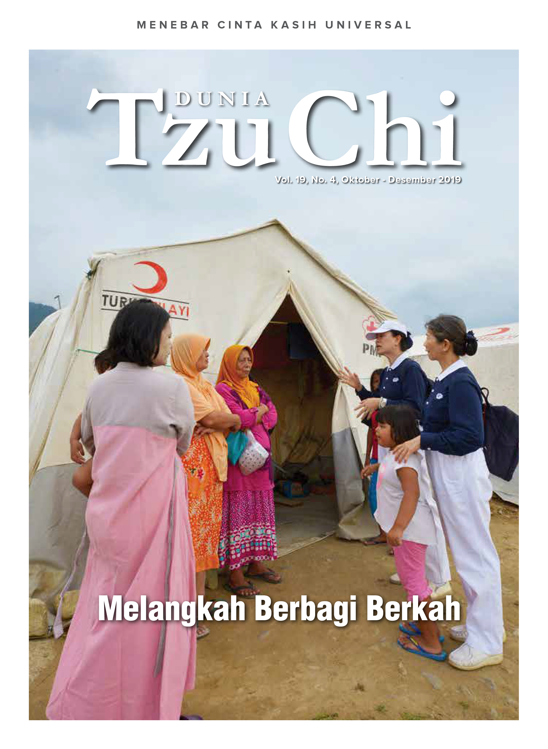 Majalah Dunia Tzu Chi Oktober-Desember 2019