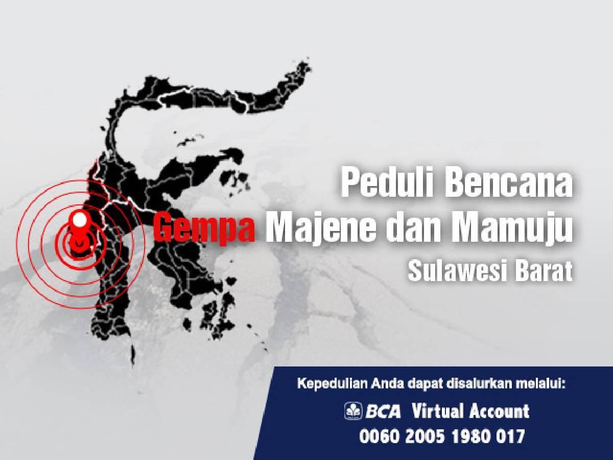 Peduli Bencana Gempa Majene dan Mamuju Sulawesi Barat