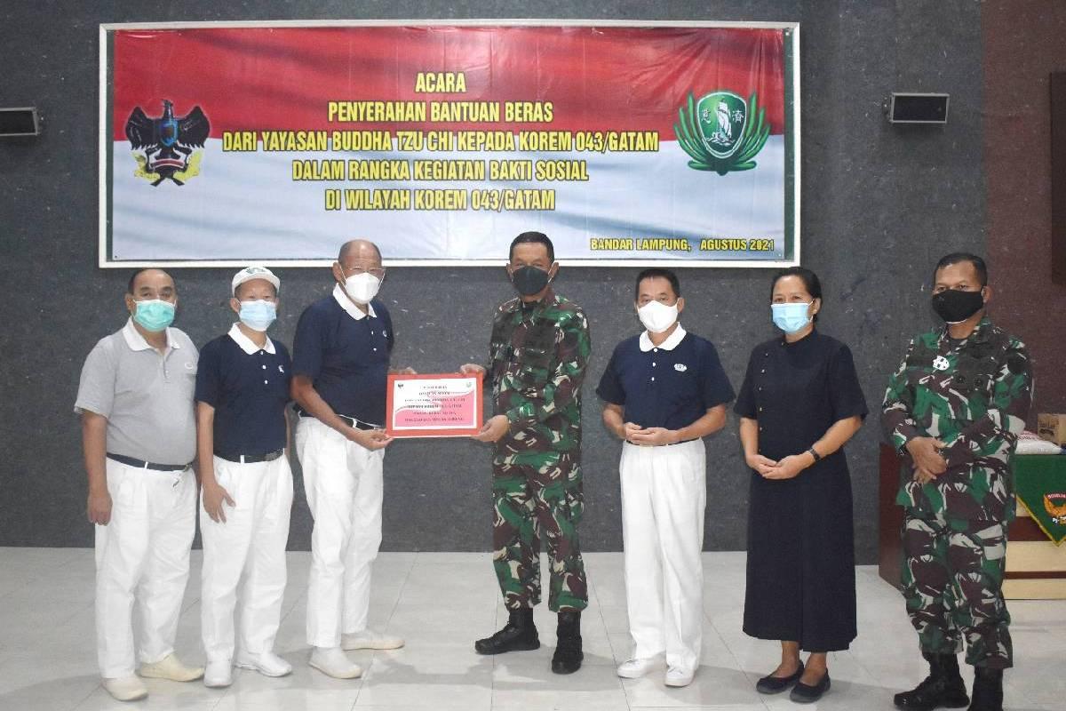 Bantuan Peduli Pandemi di Lampung