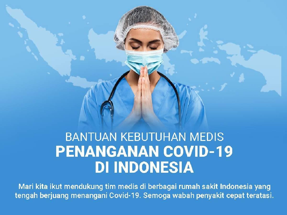 Bantuan Kebutuhan Medis Penanganan Covid-19 Di Indonesia