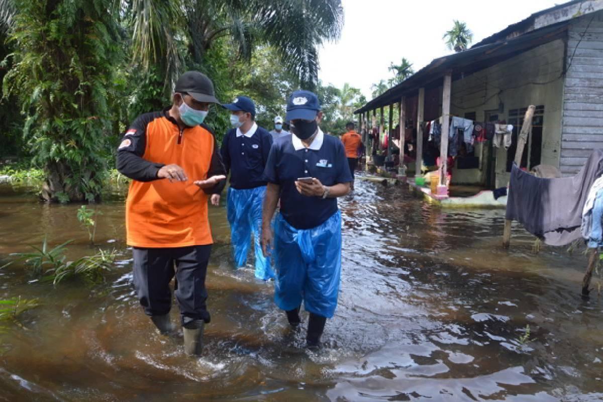 Perhatian untuk Korban Banjir Tanjung Balai