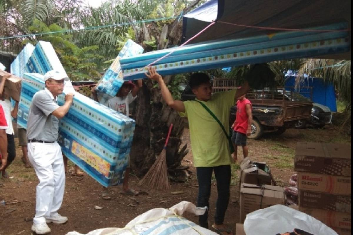 Tersalurnya Cinta Kasih ke Pelosok Kota Bengkulu