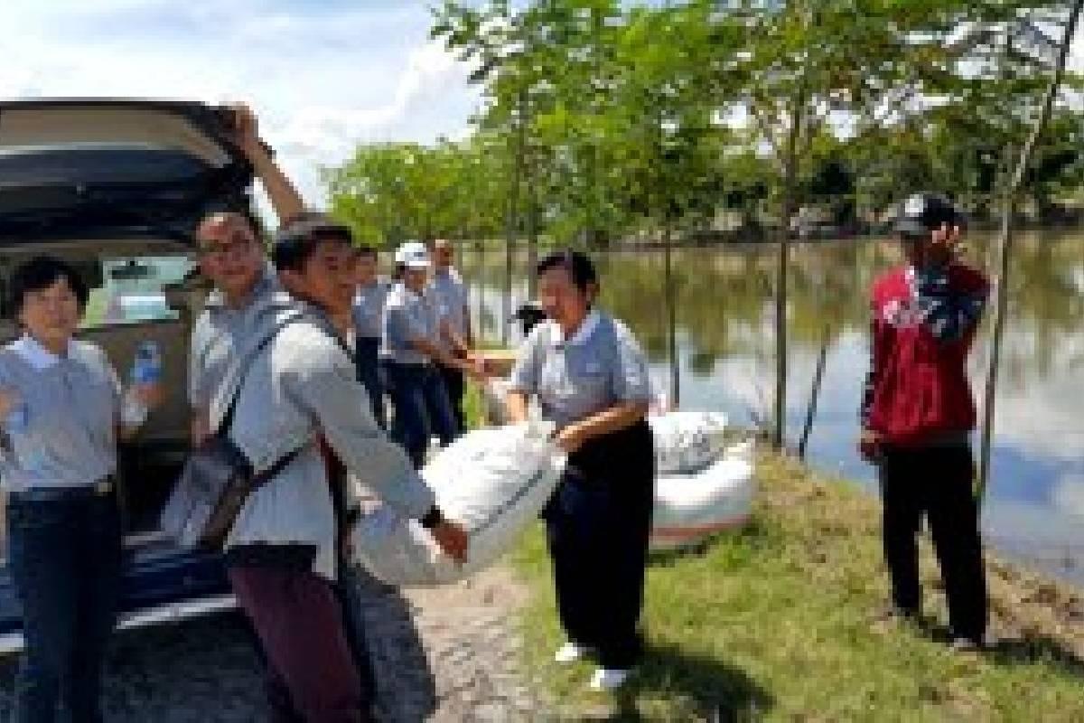 Bantuan Untuk Warga Mekar Jaya, Kabupaten Lampung Timur